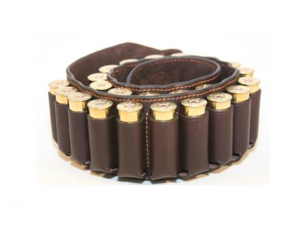 bistoli sg12l23p 12g cartridge belt premium leather